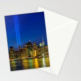 Tribute in Light. New York City Stationery Cards