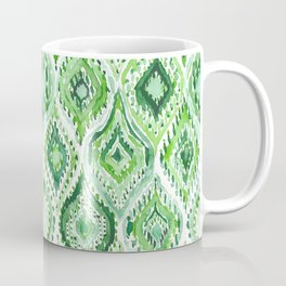 FROM WITHIN Green Moroccan Ogee Coffee Mug