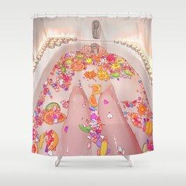 Flower Bath 7 Shower Curtain