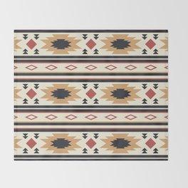 Western Desert Pattern Throw Blanket