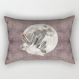 Crystal Moon Rectangular Pillow