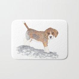 Beagle Puppy Bath Mat
