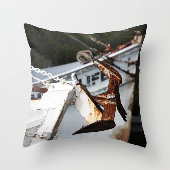 Anchor tales  Throw Pillow