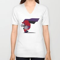 magneto V-neck T-shirts featuring My Magneto by Osvaldo Casanova