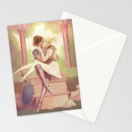 Pharah and Mercy Fairytale Stationery Cards