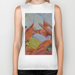 Gulf Coast Crawfish Biker Tank
