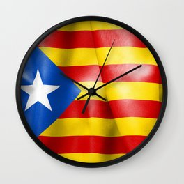 Estelada Flag Wall Clock