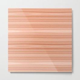 Cherry Wood Texture Metal Print