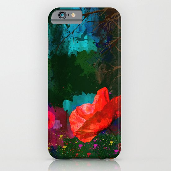 Poppies Summer iPhone & iPod Case