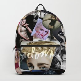 Madonna Collage-Ish. Backpack