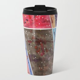 masking experiment 5 Travel Mug