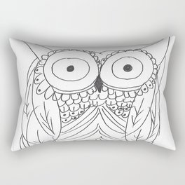 Hoo Rectangular Pillow