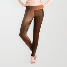 Blond Woman Leggings