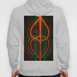 twirled up and down Hoody