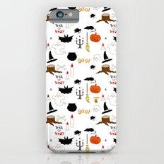 Halloween Pattern Slim Case iPhone 6s