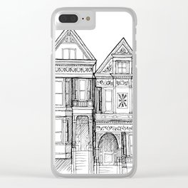 San Fransisco Clear iPhone Case