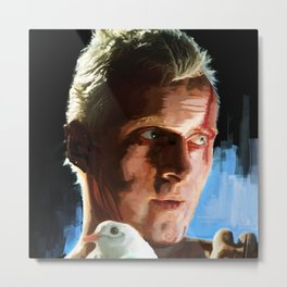 Roy  (Blade Runner) Metal Print