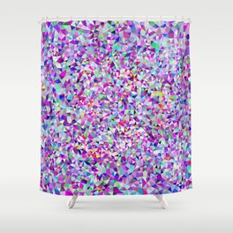 Triangulated Disposition Shower Curtain
