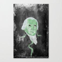 Free Floating Vaporous Apparition Canvas Print