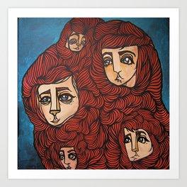 follicle friends Art Print