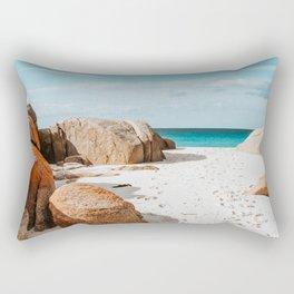 Sandy Feet   Tasmania, Australia Rectangular Pillow