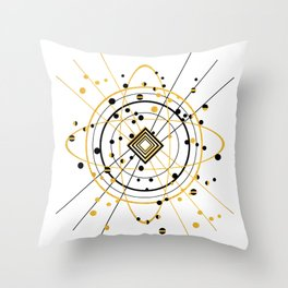 Complex Atom Throw Pillow