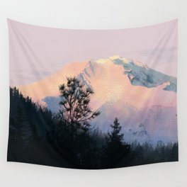 Mountain Sunrise 01 Wall Tapestry