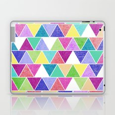 Triangle Print; Laptop & iPad Skin