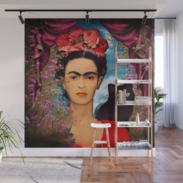 Frida Kahlo   c Wall Mural