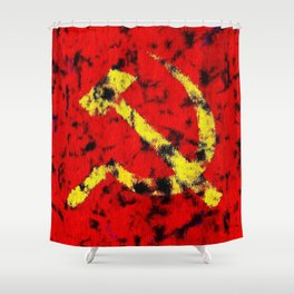 The Hammer and The Sickle Shower Curtain