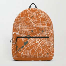 COLOGNE City Map - Germany | Orange | More Colors, Review My Collections Backpack