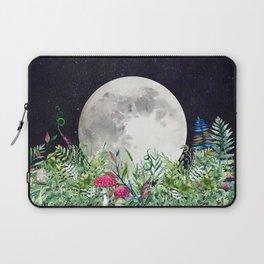 Night Garden Moon Magick Laptop Sleeve