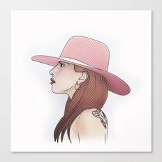 Joanne // LadyGaga Canvas Print