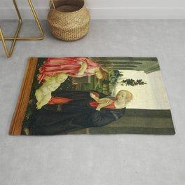 "Filippino Lippi ""The Adoration of the Child"" Rug"