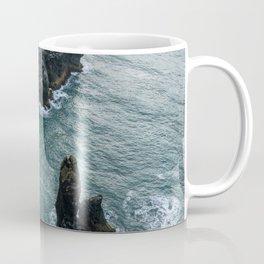 Sea stacks on the Icelandic Coast near Vik - Landscape Photography Coffee Mug