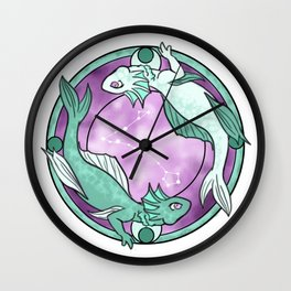 Pisces Dragon || Dragon Zodiac Series Wall Clock