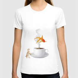 Big Dreams Require Caffeine T-shirt