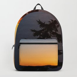 Sunset Tree Top Backpack