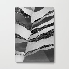 Desert Night Glam Stripes #2 #wall #decor #art #society6 Metal Print