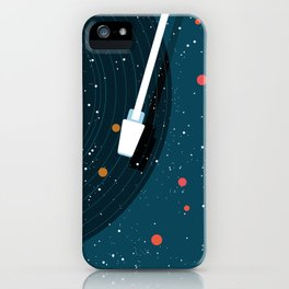 Space Vinyl iPhone Case