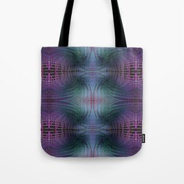 Rendering of Theoretical Spacetime and Multiverse Abstract Tote Bag
