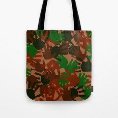 Evidence v1: Camo Tote Bag
