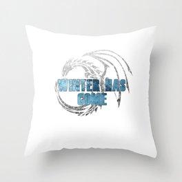 winter has come Throw Pillow