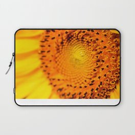 In your face yellow Laptop Sleeve