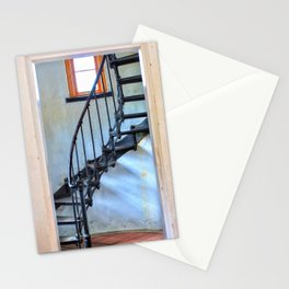 Admiralty Head Lighthouse Stairs Stationery Cards