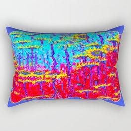 Sunflowers Moonlight Dreams Abstract Rectangular Pillow