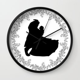 Tale as Old as Time Fairytale Wall Clock