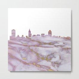Raleigh Skyline Metal Print