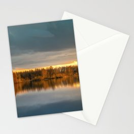 Nature lake 88471 Laupheim - Germany Stationery Cards