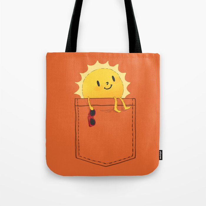 VIDA Tote Bag - heating up by VIDA